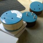 Nieuwe luchtfilters geplaatst, contacthoek gesteld, toerental aangepast en mengsel armer gezet.
